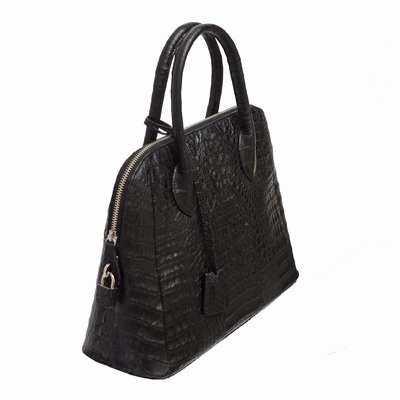 Увеличить - Женская сумка из кожи крокодила Alanda 23196.